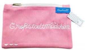 "Kosmetikbeutel ""Großstadtmädchen"" rosa"