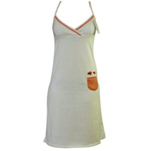 Glücksnachthemd mit Spickzettel-Täschchen