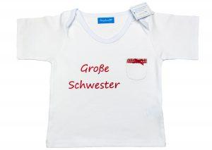 """Geschwistershirt """"Große Schwester"""""""