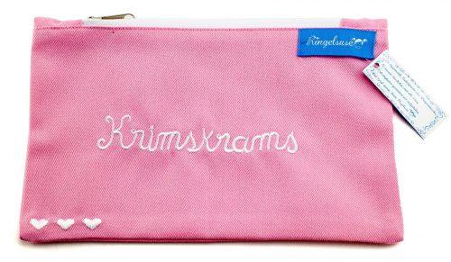 "Schminkbeutel ""Krimskrams"" rosa"