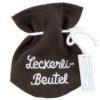 Brauner Leckerli-Beutel
