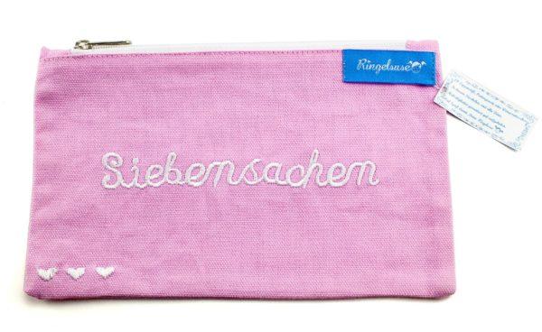 """Kosmetiktäschchen """"Siebensachen"""" rosa"""