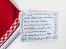 Etikett Mini Apotheke Medikamentenbeutel