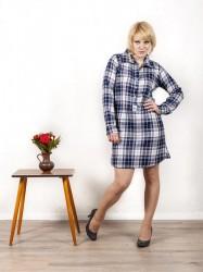 Hemdblusenkleid 'Holzfällerin'