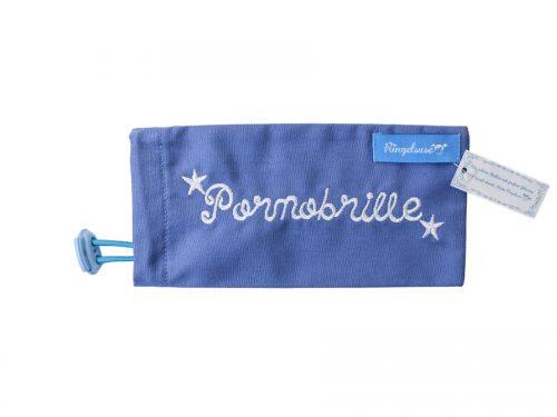 Pornobrille blau
