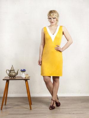 Sonnengelbes Sommer Kleid von Ringelsuse