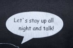 Beutel-stay-up-all-night-and-talk detail
