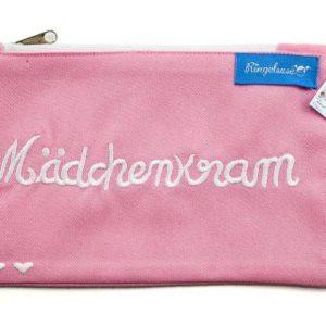 "Kosmetikbeutel ""Mädchenkram"" rosa"