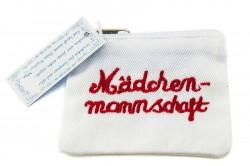 """Tamppontäschchen """"Mädchenmannschaft"""""""