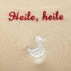 """Schal """"Heile, heile Gänschen"""""""