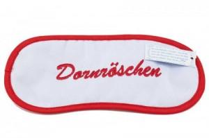 Schlafmaske entspannungsmaske Dornröschen