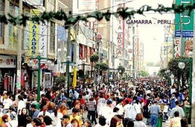 Gamarra Markt in Lima