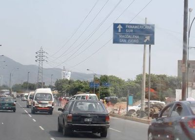 Ringelsuse Arbeitsweg Panamericana