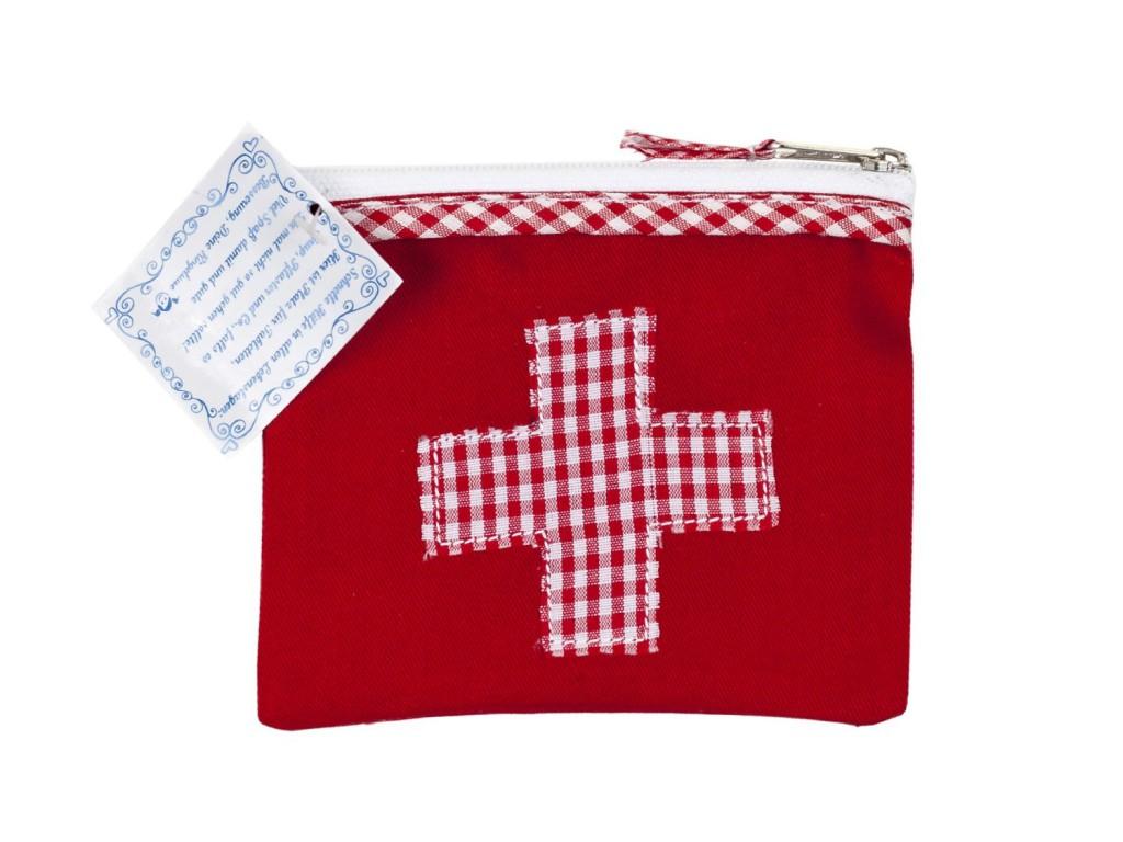 Beutel Medikamente rotes Kreuz