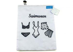 Bikini Bag Beutel für nasse Schwimmsachen von Ringelsuse