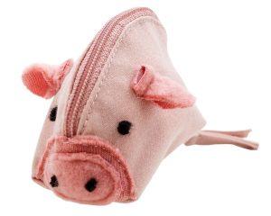 Glücksbringer/Talisman rosa Baumwolle von Ringelsuse