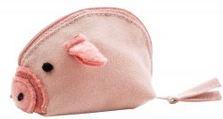 Glücksschwein/Portemonnaie von Ringelsuse