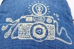 Fototasche für Spiegelreflex-Kameras mit Tragegurt und hübschem Print von Ringelsuse