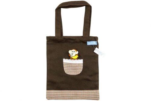 Kindertasche mit lustiger Äffchenfigur