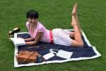 Decke für Park Strand See mit Aufbewahrung für Transport