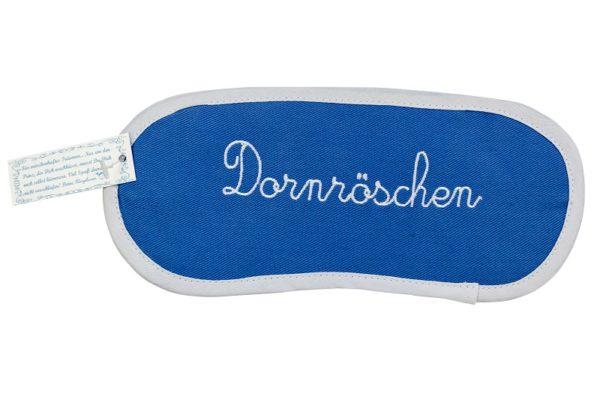 Schlafmaske Dornröschen blau von Ringelsuse