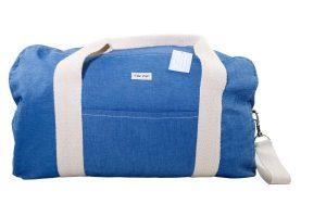 schöne Reisetasche blau