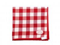 Tischdecke rot kariert Landhaus Stil Tischlein Deck Dich