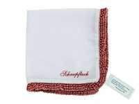 Stofftaschentuch Taschentuch aus Stoff bestickt mit Spitze