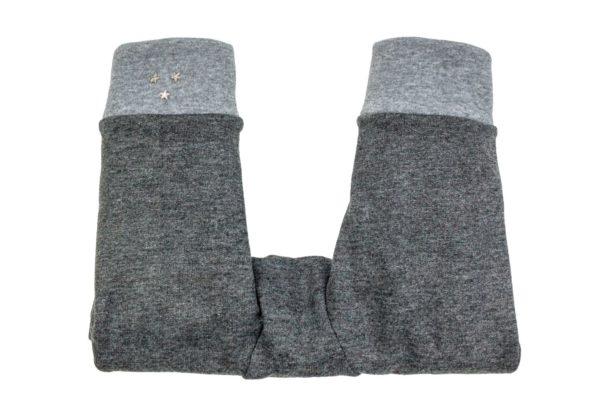 Kinderwagenmuff Kinderwagen Handschuhe grau Stern