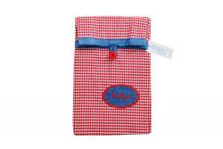 Lunchbag Lunchtasche rot weiß kariert Mahlzeit