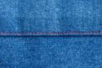 Tasche Jeans rote Naht