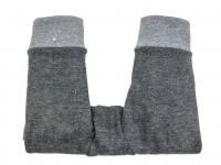 Kinderwagenhandschuhe Kinderwagenmuff grau