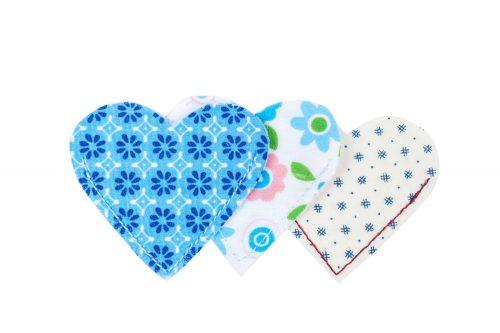 Lesezeichen Buchzeichen Bookmark Herz Fairtrade