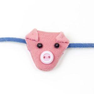 Schwein Schweinchen Schuhe Schmuck Schnürsenkel Kinder Mädchen