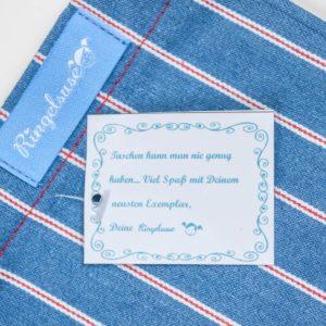 Vintage Tasche Retro Muster Streifen oldschool
