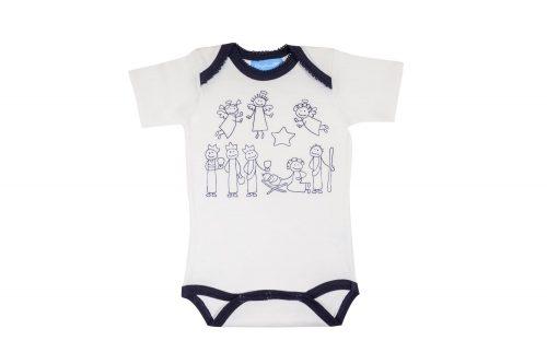 Strampler Baby Babystrampler Babybody Weihnachten Weihnachtsgeschichte Krippenspiel Geschenk