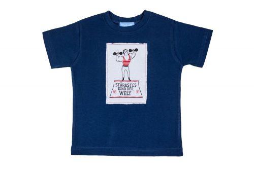 Kindershirt T-Shirt Shirt Kinder Stärkstes Kind der Welt