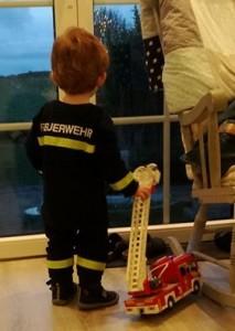 Schlafanzug Feuerwehrmann Feuerwehruniform für Kinder