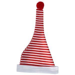 Babymütze Zipfelmütze rot weiß gestreift